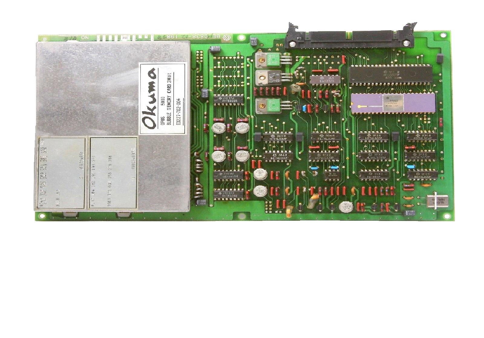 E0227 Bubble Memory Cards