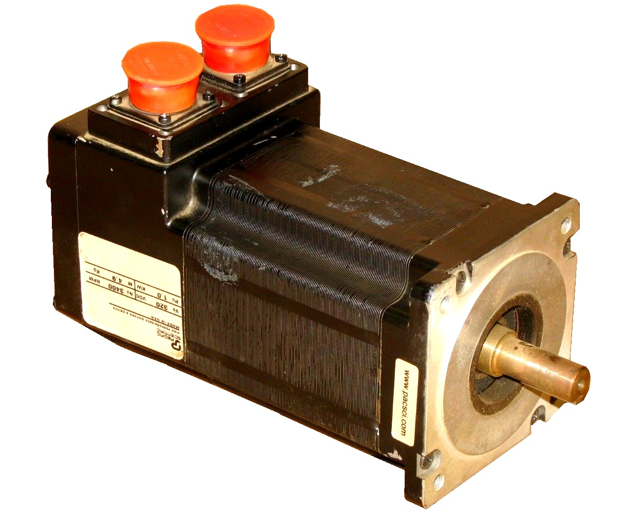 S Series AC Brushless Servo Motors