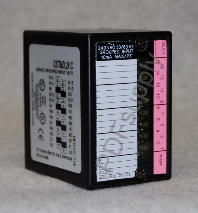 IC670MDL241
